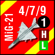 c Bandit MiG21