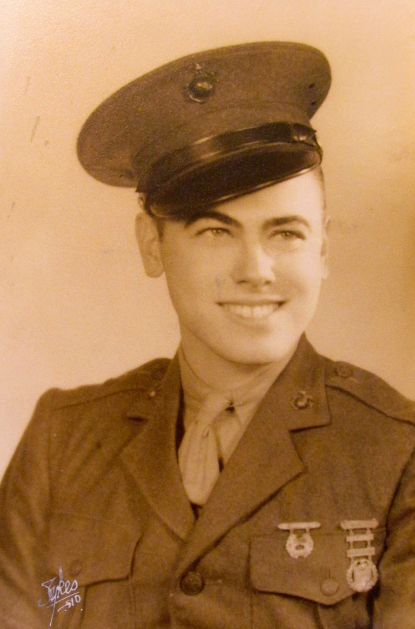 Dick Trott of Venice had just graduated from boot camp in San Diego, Calif. in 1943 when this picture was taken. Photo provided