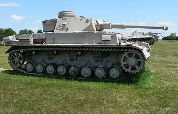A Panzer IVG at the U.S. Army Ordnance Museum. Photo by Mark Pellegrini.